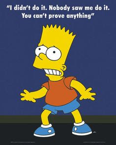 Bart Simpson Quote 1