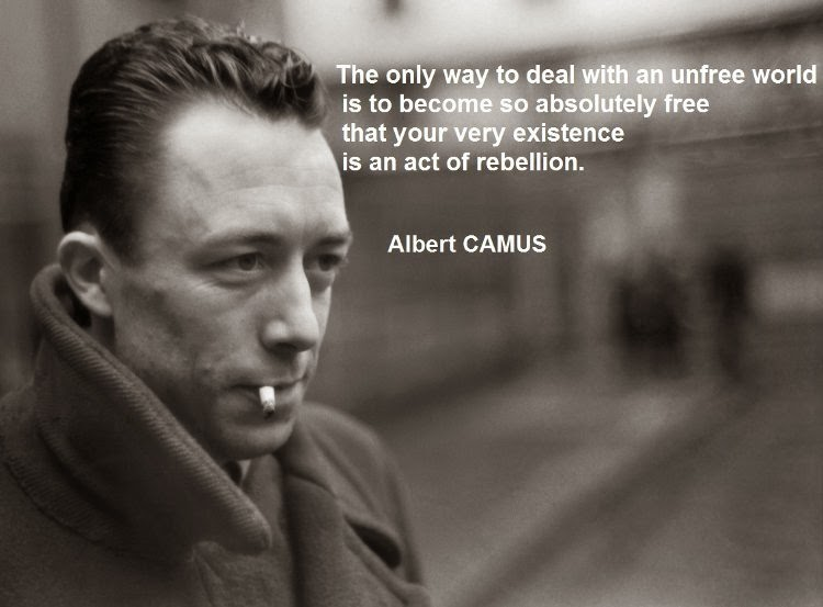 Image result for Combat Writings albert camus quote